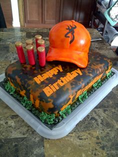Deer Hunting Cake Would So Love To Do This For My Husband