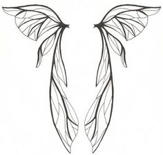 Fairy Wings Tattoo Designs Ideas Picture 1