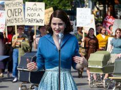 Rachel Brosnahan as Mrs. Maisel <3