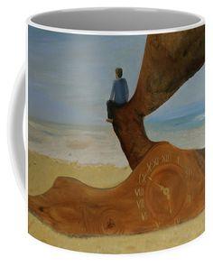 Subjective time Coffee Mug for Sale by Ildiko Mecseri Mugs For Sale, Fine Art America, Coffee Mugs, Ceramics, Gifts, Painting, Hall Pottery, Presents, Pottery