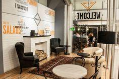 Corner 8 restaurant by mob, Mexico City – Mexico » Retail Design Blog