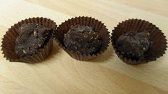 Rocas de chocolate (sin azúcar)