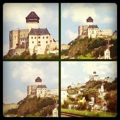 trenčiansky hrad Castles, Medieval, Mona Lisa, Homes, Artwork, Photography, Painting, Houses, Work Of Art