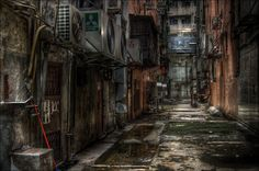 Hong Kong Alley by 3vilCrayon on deviantART