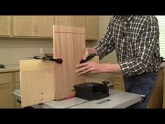 Panel Raising with a Table Saw - YouTube