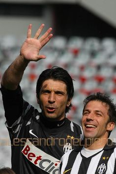 Gigi Buffon & Alessandro Del Piero