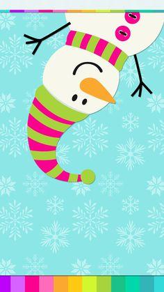 #digitalcutewalls Snowman Wallpaper, Christmas Phone Wallpaper, Holiday Wallpaper, Christmas Mood, Christmas Cats, Christmas Pictures, Christmas Clipart, Christmas Greetings, Christmas Drawing