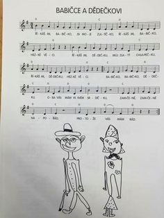 Senior Day, Sheet Music, Children, Boys, Kids, Music Score, Big Kids, Children's Comics, Music Sheets