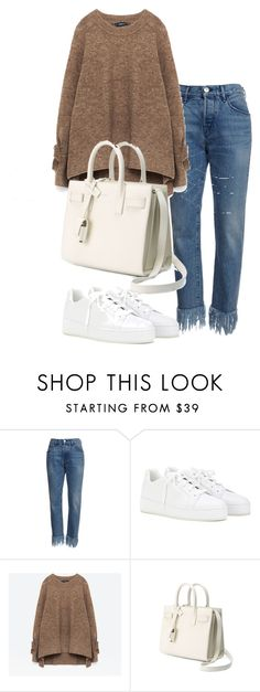 """""""Untitled #2609"""" by theeuropeancloset ❤ liked on Polyvore featuring Loro Piana and Yves Saint Laurent"""