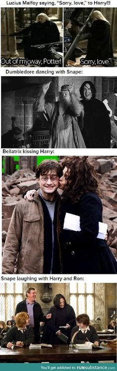 Things you won't see on Harry Potter part 2