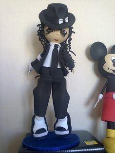 Fofucha Michael Jackson Traje negro