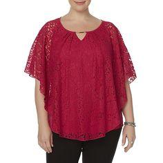 d90bd3fecc Sears.com. Poncho Tops · Plus Size Fashion · Full Figure Fashion · Plus Size  Fashions · Plus Sizes Fashion. Simply Emma Simply Emma Women s ...