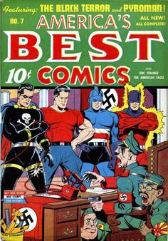 Cover for America's Best Comics (Pines, 1942 series) #v3#1 (7)
