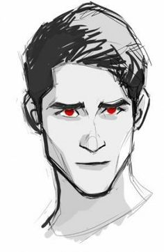 125 best teen wolf art images in 2018 Arte Teen Wolf, Teen Wolf Art, Teen Wolf Scott, Cool Drawings, Drawing Sketches, Drawing Art, Drawing Ideas, Man Face Drawing, Shadow Drawing