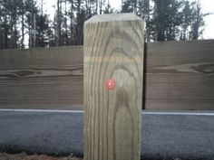 Evil nail geocache.  Wow, I could do a whole section on Evil Caches.  Seeing more and more of these types lately.