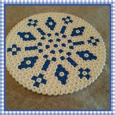 Coaster hama beads by rehder1961