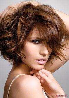 асимметричная стрижка для вьющихся волос.: 21 тыс изображений найдено в Яндекс.Картинках