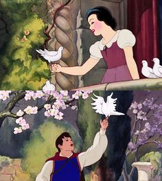 Snow White and the Prince :D