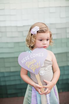 Cute sign for a flower girl // photo by Izzy Hudgins