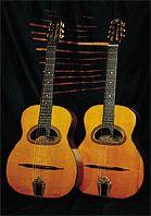 R et F Charle, cartes postales, Guitares Selmer Maccaferri