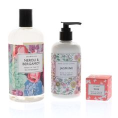 Pampering does a body good and this trio contains no nasties and is a great combo of some of our favourite products showcasing uber-feminine floral scents; Bath & Body Gift Sets, Bath And Body, Hand Lotion, Body Lotion, Green Melon, Shower Gel, Lip Balm, Gifts, Oliver Bonas