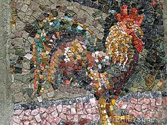 Royalty Free Stock Photography: Mosaic Rooster