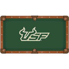 South Florida Bulls Pool Table Cloth