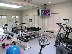 1000 images about gimnasio en casa on pinterest home for Espejos para gimnasio