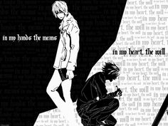 Light and L - death-note