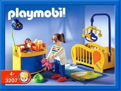 PLAYMOBIL� set #3207 - Baby Room