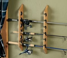 Six rod horizontal rack. I would need another rod to fill this up :) Six rod horizontal rack. I would need another rod to fill this up :) Fishing Rod Rack, Fishing Rod Storage, Fly Fishing Rods, Fishing Tips, Fishing Cart, Crappie Fishing, Ice Fishing, Saltwater Fishing, Fishing Lures