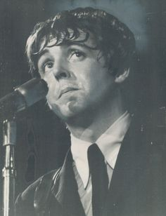 Paul McCartney.....sweaty...