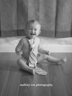 One year old photo session, baby boy