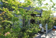 小さな庭、狭いスペースの工夫