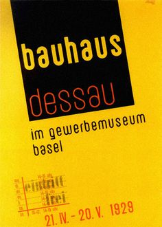 Bauhaus - Graphic Design and Typography