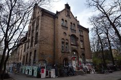 Named after a violent German anarchist, this famous Berlin squat is a graffiti-covered stronghold of leftist activism
