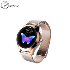 Rose Gold Smartwatch  Price: 138.99 & FREE Shipping Rose Gold Color, Smartwatch, Beautiful Roses, Heart Ring, Free Shipping, Watches, Accessories, Wrist Watches, Wristwatches