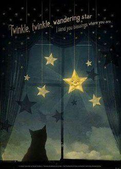 Twinkle, twinkle wandering star.
