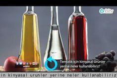 Temizlik için kimyasal ürünler yerine neler kullanabiliriz? | onbi.tv
