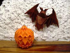 origami halloween | Origami Halloween by ~Orestigami on deviantART