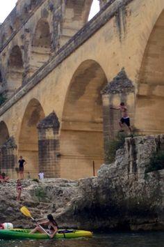 Jumping le Pont du Gard