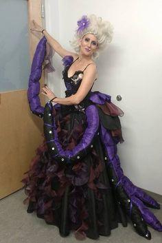 Custom Costume - Ursula The Sea Witch - Theatre Costumes - Dance Costumes - Ursula Costume