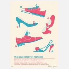 Footwear Psychology Print, 70€, now featured on Fab.