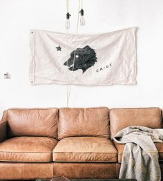Large California Bear Flag | Fly this finely decorated flag high as a minimalist ode to all... | Flags & Windsocks