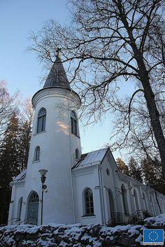 The Church of Törnävä, Seinäjoki Grave Monuments, Church Building, Place Of Worship, Heaven On Earth, Helsinki, Far Away, Scenery, Around The Worlds, Graveyards