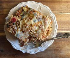 Garden Veggie Spaghetti Bake WW Friendly