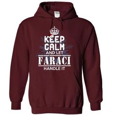 awesome FARACI Name Tshirt - TEAM FARACI LIFETIME MEMBER
