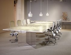 LSM Conference Table Series by Knoll