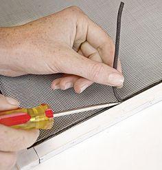 How to repair a screen