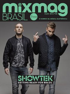 Our boys of Showtek on the cover of MixMagazine Brasil!